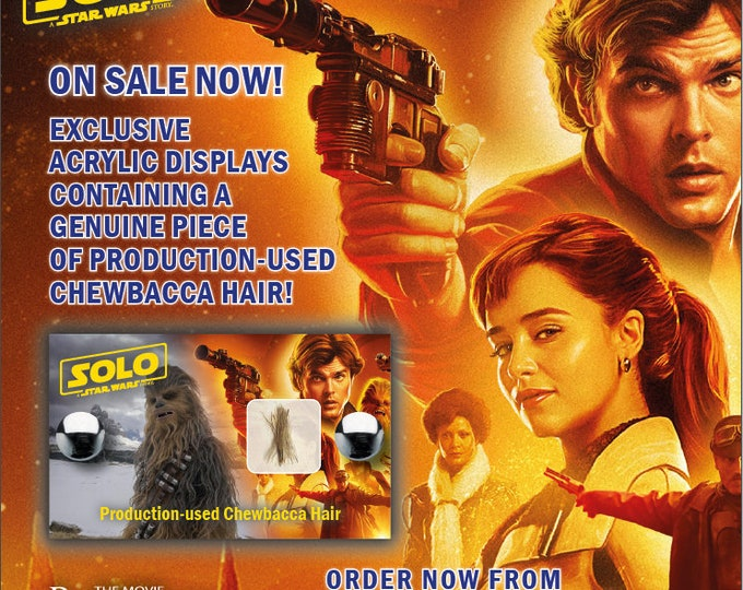 Mini Display - Solo: A Star Wars Story - Chewbacca Hair
