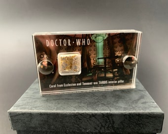 Mini Display - Doctor Who Coral from Pillars in Console Room