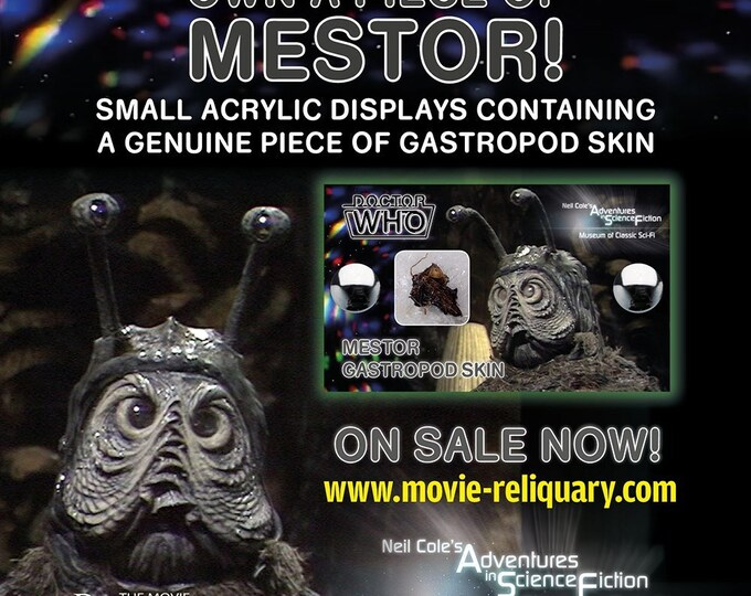 Doctor Who - Mestor Gastropod Skin Segment Mini Display