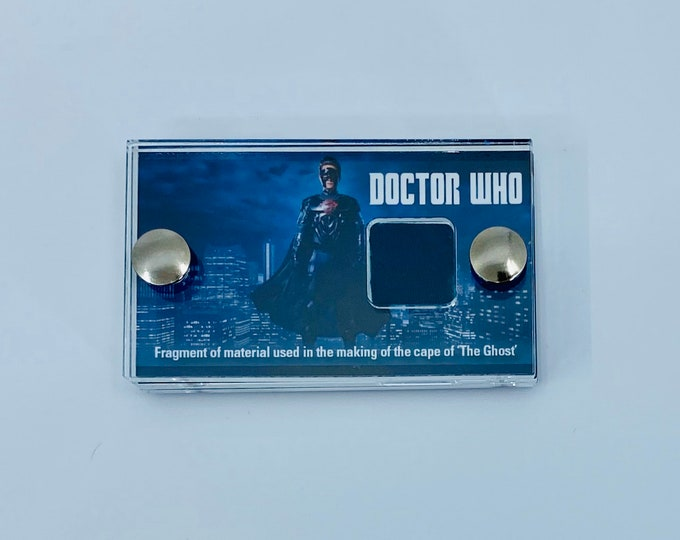 Mini Display - Doctor Who - The Ghost Production Cape Fabric