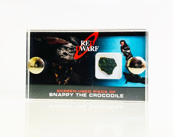 Mini Display -  Red Dwarf Snappy the Crocodile Piece