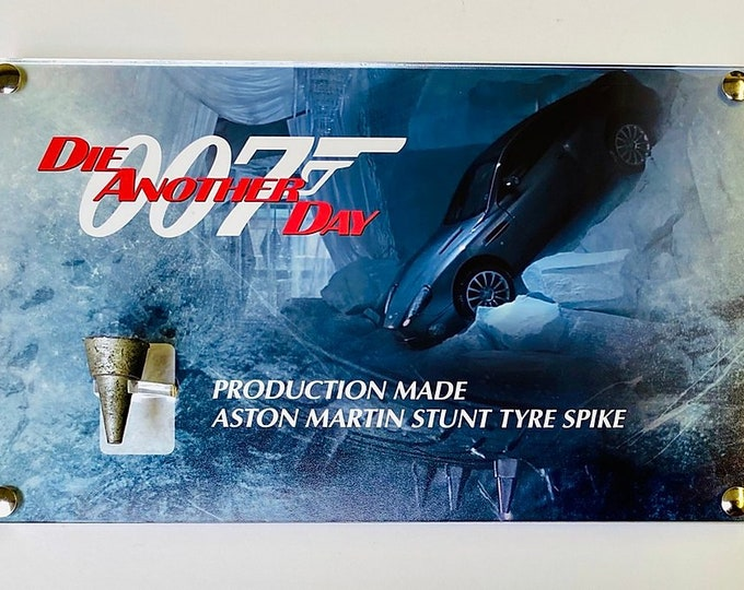 James Bond 007 - Aston Martin Stunt Tyre Spike