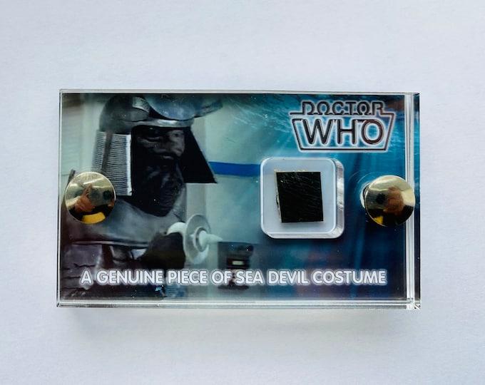 V2 Mini Display - Doctor Who Sea Devil Screen Used Costume Display