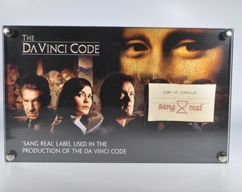 The Da Vinci Code 'Sang Real Label' Production Used