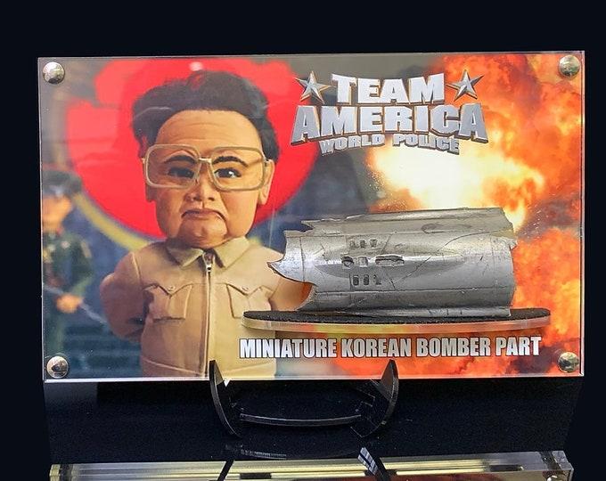 Team America – Miniature Korean Bomber Part Hull Section 2