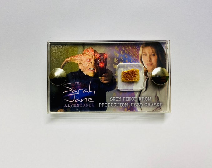 Mini Display - Sarah Jane Adventures - Production Used Graske Piece