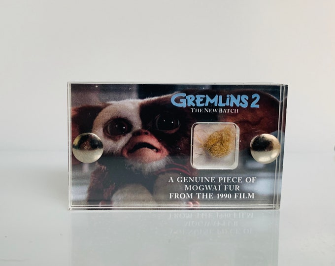 Mini Display - Gremlins 2 Production Made Mogwai Fur