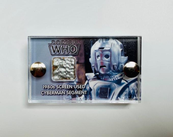 Mini Display Doctor Who -  Screen Used 80's Cyberman Costume
