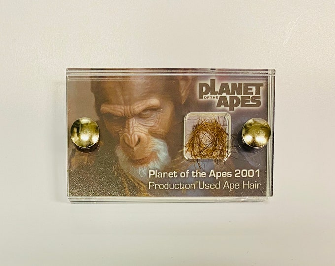 Mini Display - Planet of The Apes -  Production Used Ape Hair
