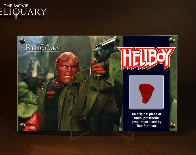 Hellboy - Ron Perlman Facial Prosthetic Piece - Black Edition