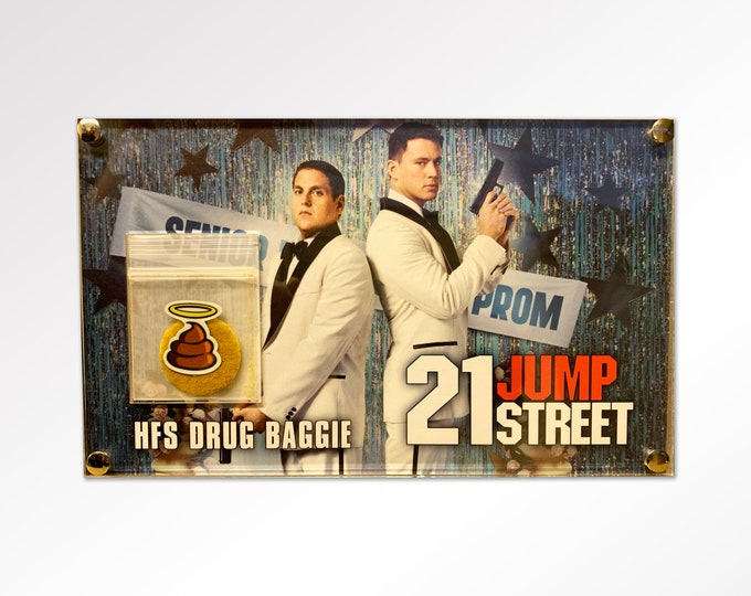 21 Jump Street - HFS Production Used Drug Baggie
