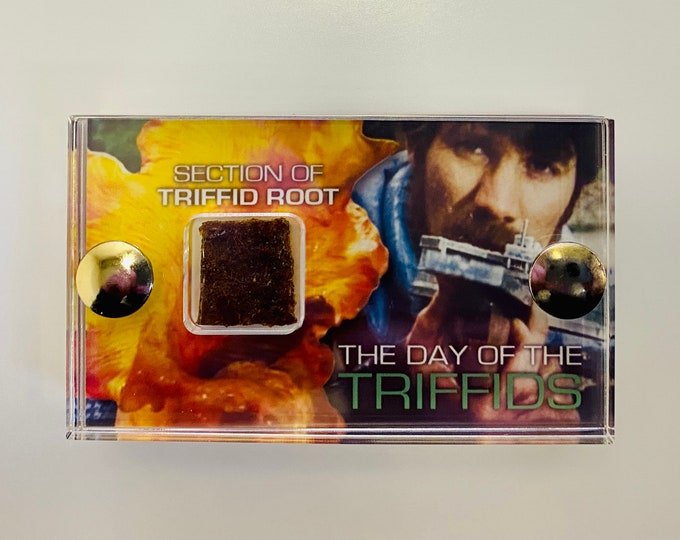 Mini Display Day of the Triffids - Screen Used Triffid Root