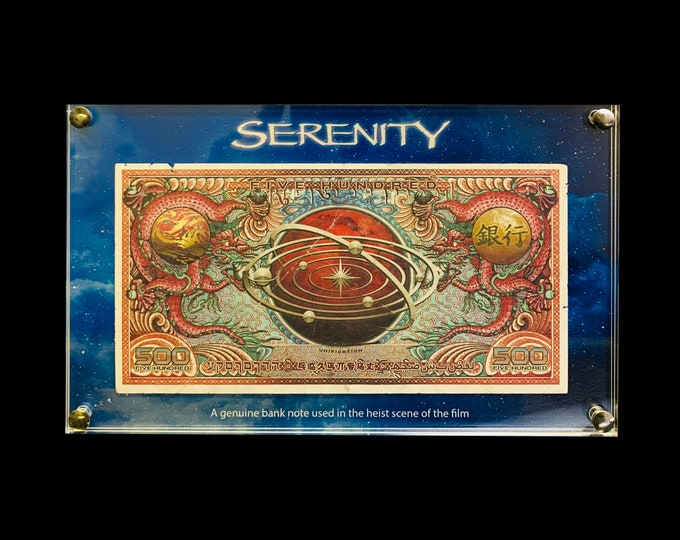 Serenity Bank Heist Note Prop