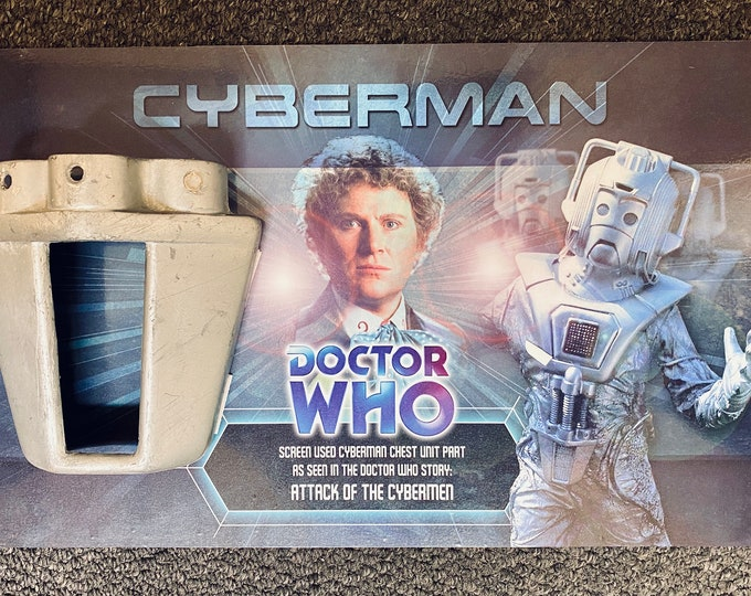 Doctor Who - Screen Used Cyberman Chest Section