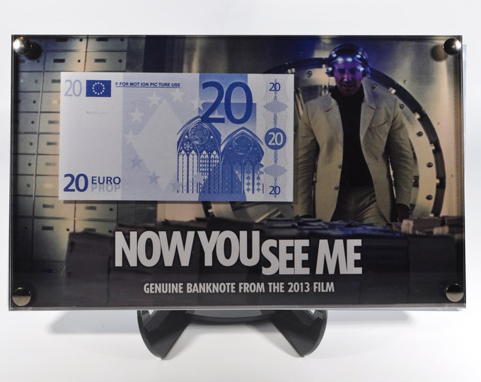 Now You See Me - Production Used Euro Prop Note