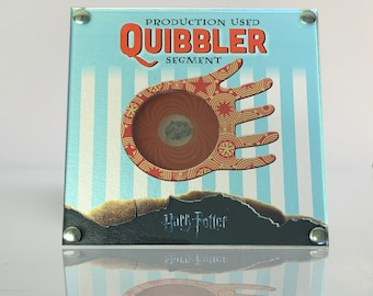 Harry Potter Production Used Quibbler Segement with COA