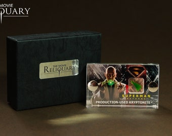 Mini Display - Superman Returns Production-Used Kryptonite