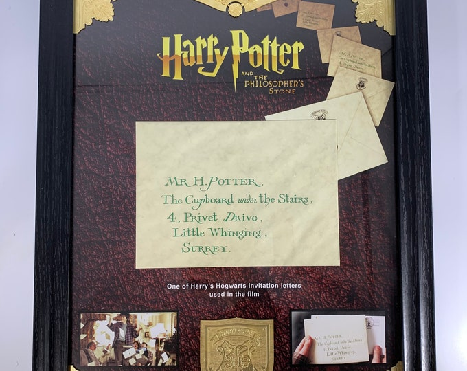 Harry Potter Production Used Letter / Envelope with Brass Detailing