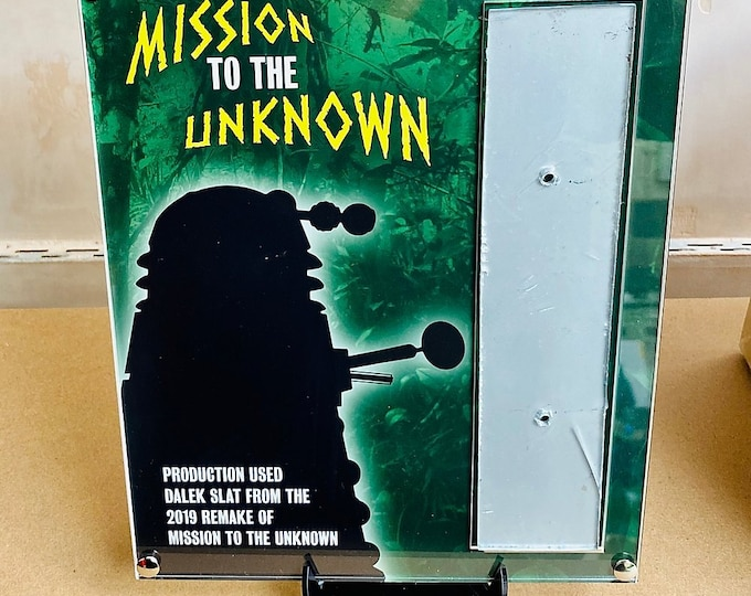 Doctor Who - Mission to the Unknown Remake - Dalek Slat