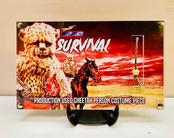 Doctor Who - Survival Cheetah Costume Piece Production Used