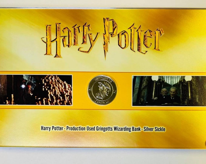 Harry Potter - Silver Sickle Coin