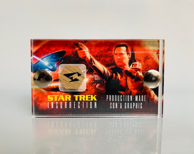 Mini Display - Star Trek Insurrection Production Made SON'A Graphic