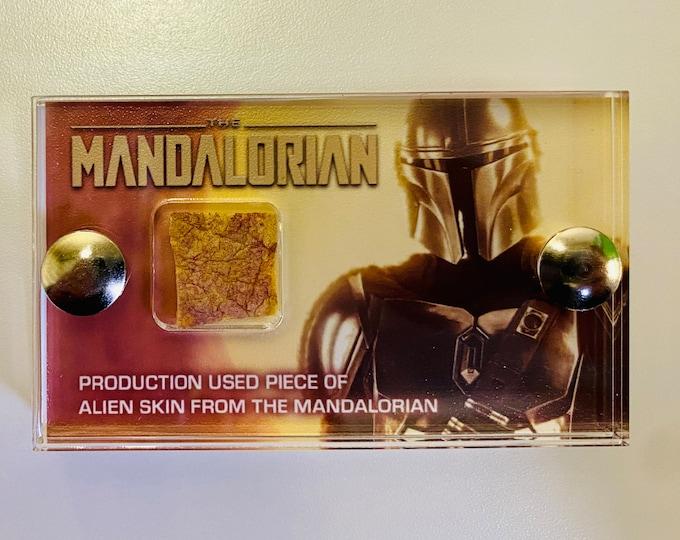 V2 Mini Display - Production Used Mandalorian Alien Skin