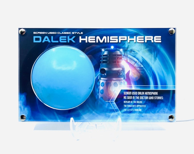 Large Display  - Doctor Who Classic Style Screen Used Dalek Hemisphere in 3 Stories