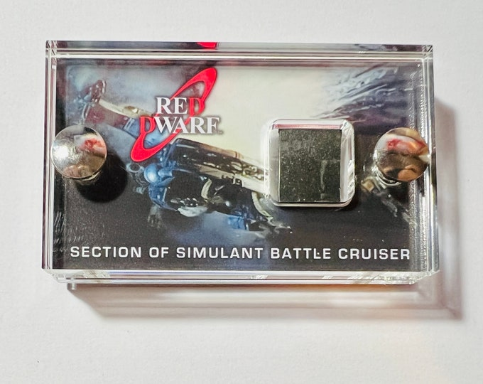 Mini Display -  Red Dwarf Section of Simulant Battle Cruiser