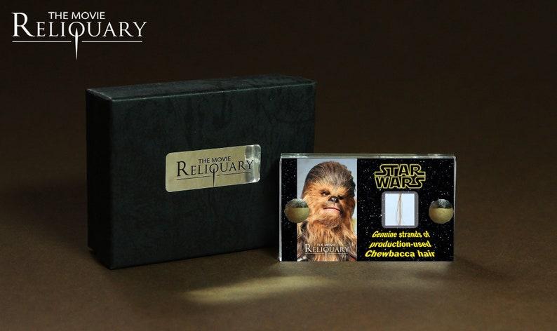 Mini Display  Star Wars  A New Hope  Chewbacca Hair Strand image 0