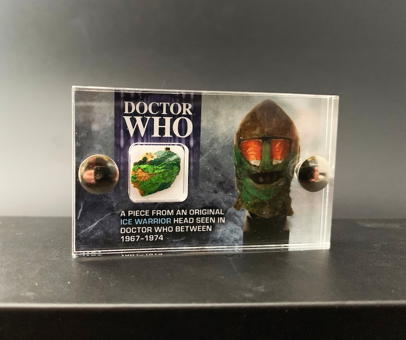 Mini Display  Doctor Who  Ice Warrior Piece from Screen Used image 0
