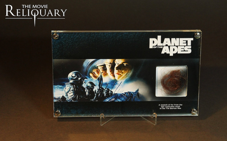 Planet of the apes  ape fur swatch display image 0