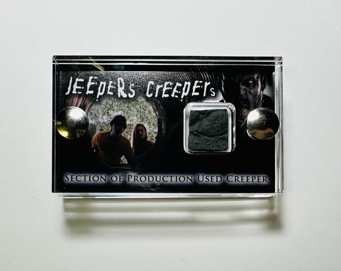 Jeepers Creepers - Section of Production Used Creeper
