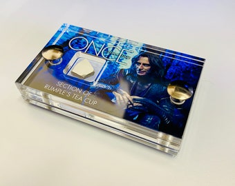 Mini Display - Once Upon A Time - Section of Rumple's Tea Cup