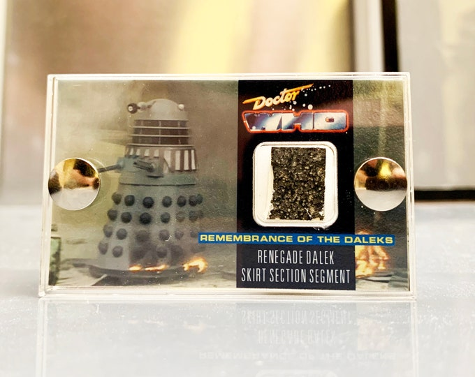 OFFER: Doctor Who - Dalek Skirt Segment from Remembrance of the Daleks - Mini Display