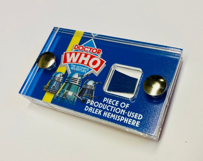 Mini Display - Doctor Who Ultimate Adventure Stage Play Dalek Piece