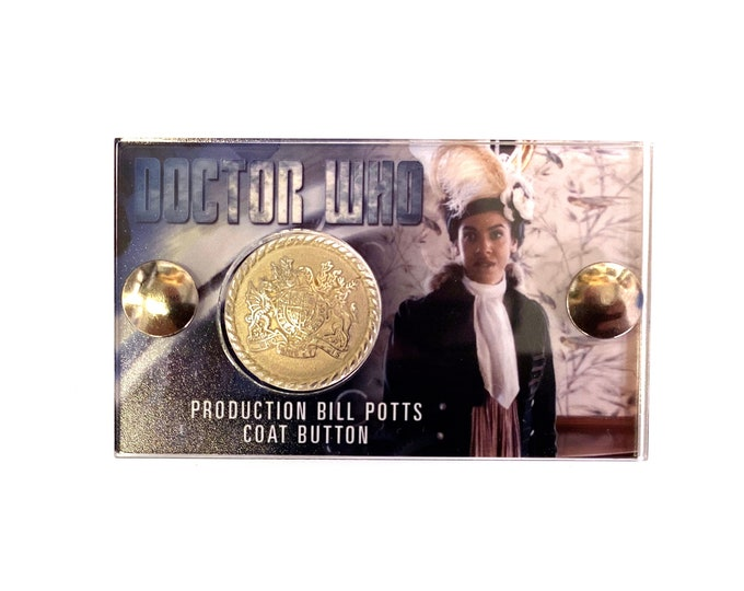 Mini Doctor Who Display - Production Bill Potts Button
