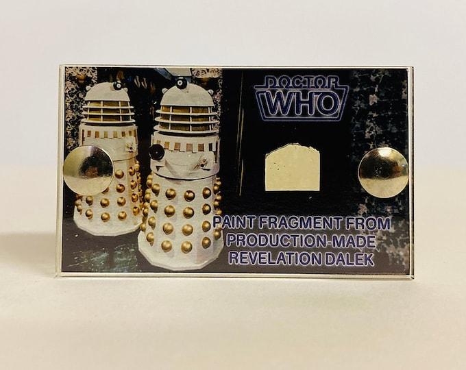 Mini Display - Doctor Who - Revelation Dalek Paint Fragment
