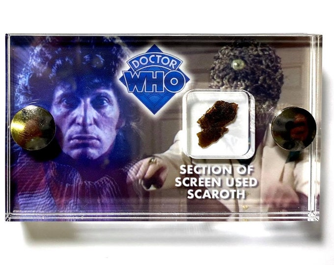 Doctor Who - City of Death - Scaroth Screen Used - Mini Display