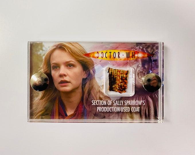 Mini Display Doctor Who -  Production Used Sally Sparrow Costume Display