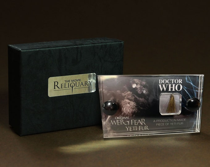 Mini Display - Doctor Who - Original Yeti Fur