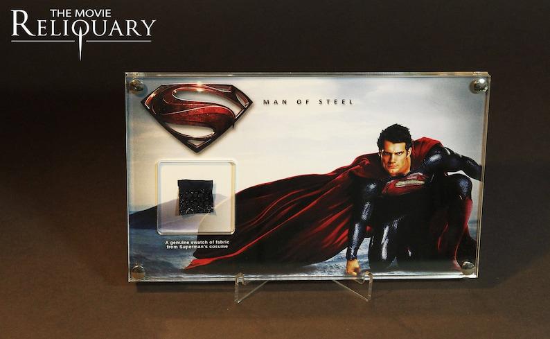 Man of Steel  Superman costume swatch display image 0