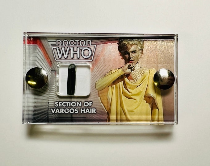 Doctor Who - The Leisure Hive Production Used Vargos Hair