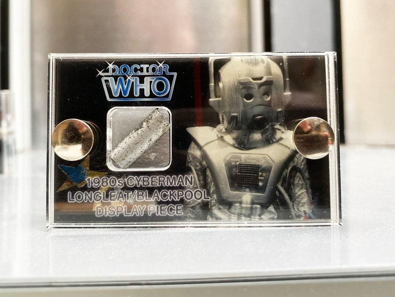 Doctor Who  Tube Earthshock Edition 80's Cyberman image 0