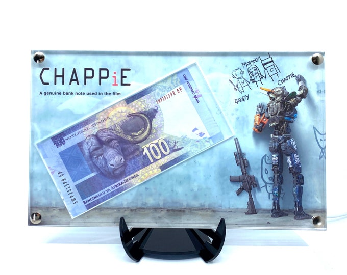 Chappie - 100 Rand Screen used bank note display