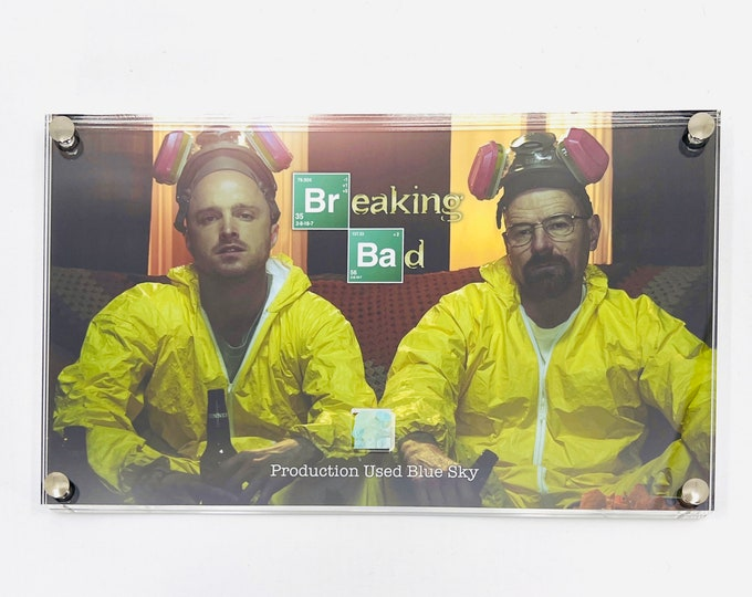 Large Display - Breaking Bad Production Used Blue Sky