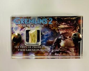 Mini Display - Gremlins 2 Production Used Gremlin Bone