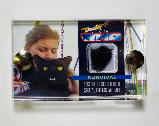 Doctor Who - Animatronic Cat Fur from Survival