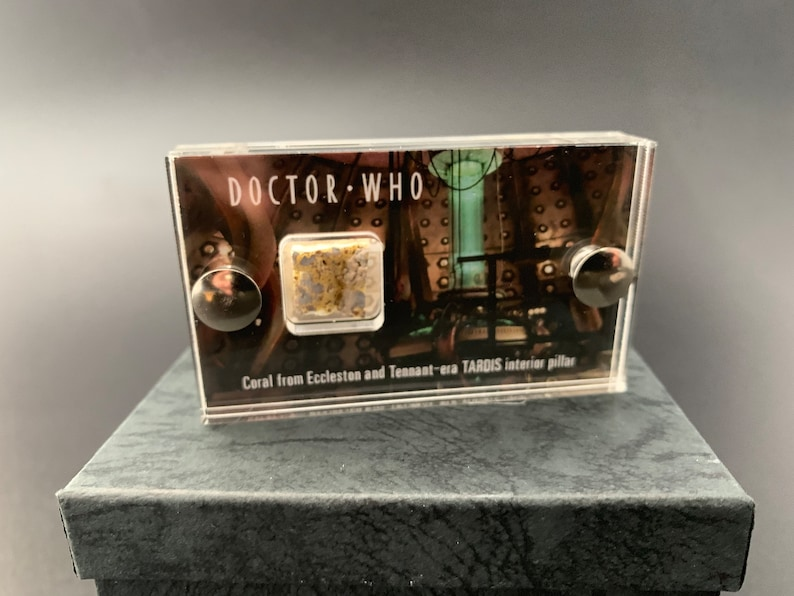 Mini Display  Doctor Who Coral from Pillars in Console Room image 0
