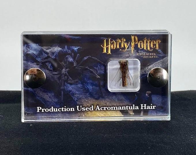 Mini Display - Harry Potter Acromantula Hair Production Used